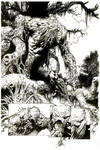 Wonder Woman issue 36 teaser preview Swamp Thing!