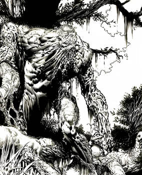 Swamp Thing detail