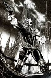 Judge Dredd final I AM THE LAW Cover