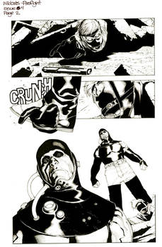 Wild Cats Issue 4 Firefight Travis and Rich
