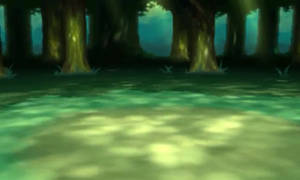 Pokemon X and Y Forest battle background