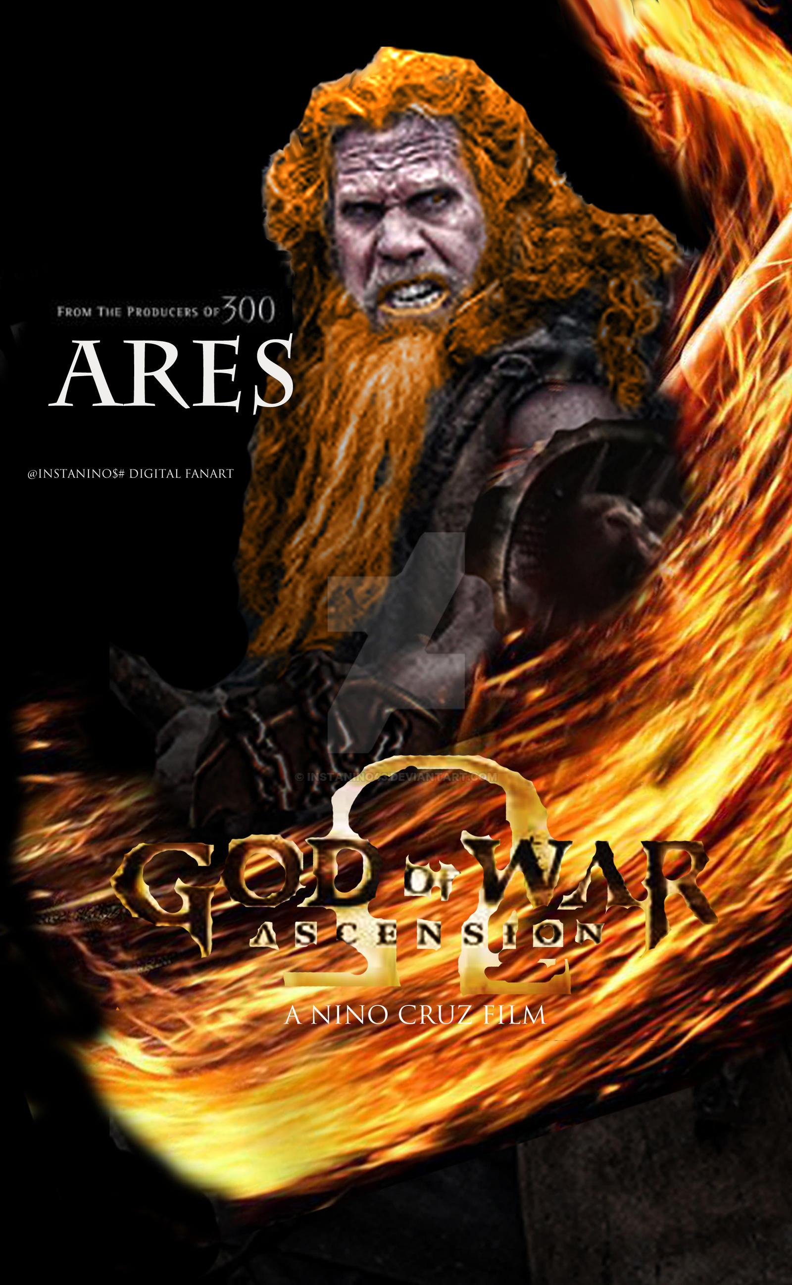 God of War Movie concept Digital Fan Art Ares by ...