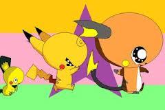 pichu, pikachu and rachu by shadowthewolf58