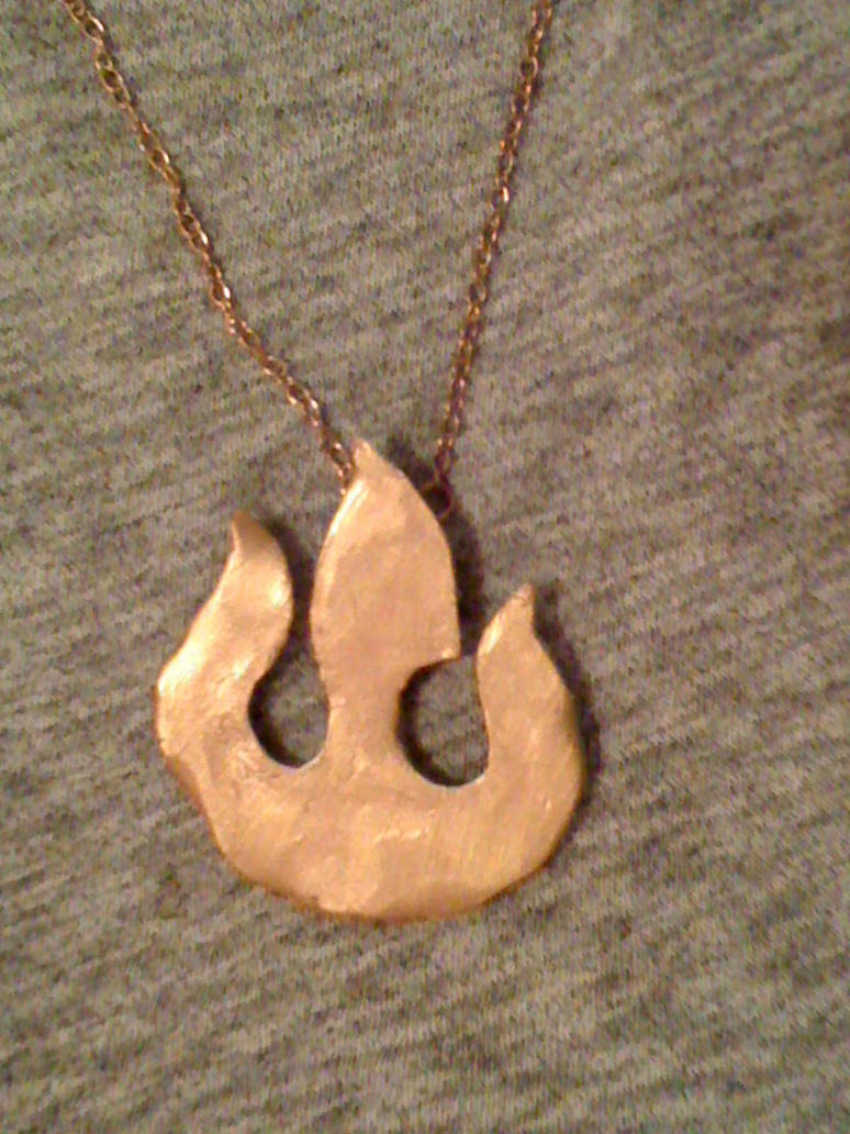 Fire Nation Pendant by goneloopy