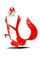 Red Fox by Monkey-Mafia