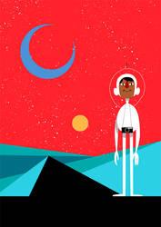 Omar Likes the New Planet by Monkey-Mafia