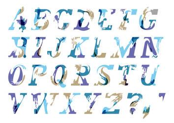 Beach Typeface Version 2 by Monkey-Mafia