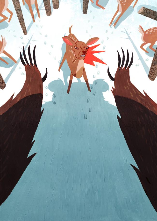 Oh Deer by Monkey-Mafia