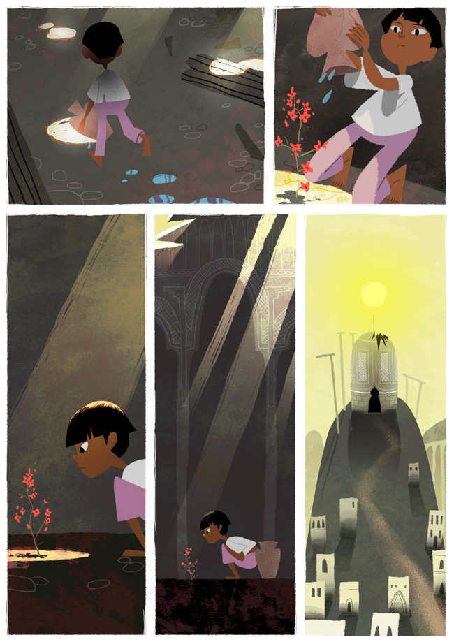 The Boy and the Jar: Page 7 by Monkey-Mafia
