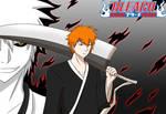 Bleach:Ichigo Kurosaki and Hollow Ichigo