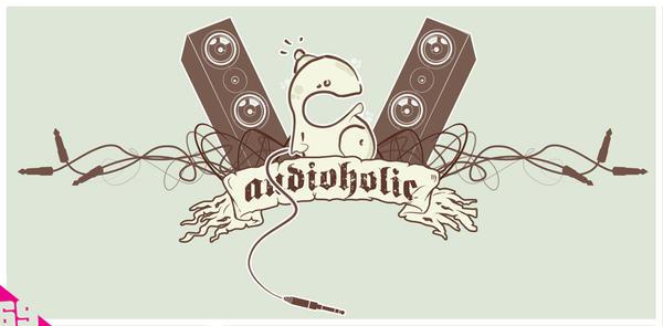 audioholic by 69design
