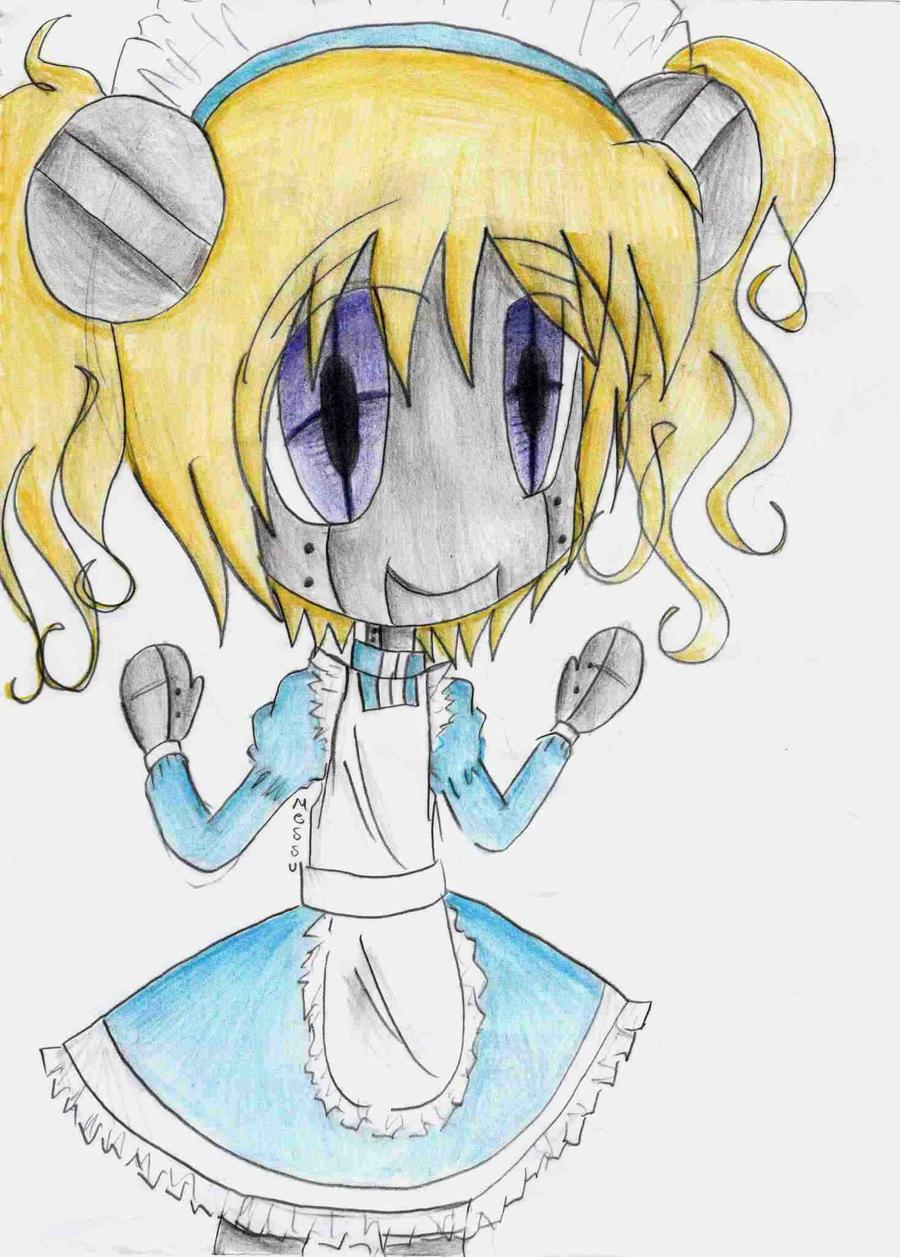 Chibi Marshmallow by MessuNya on DeviantArt