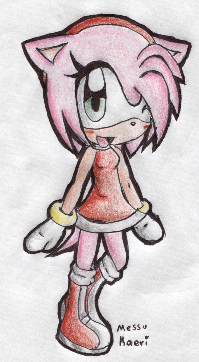 Chibi Amy by MessuNya