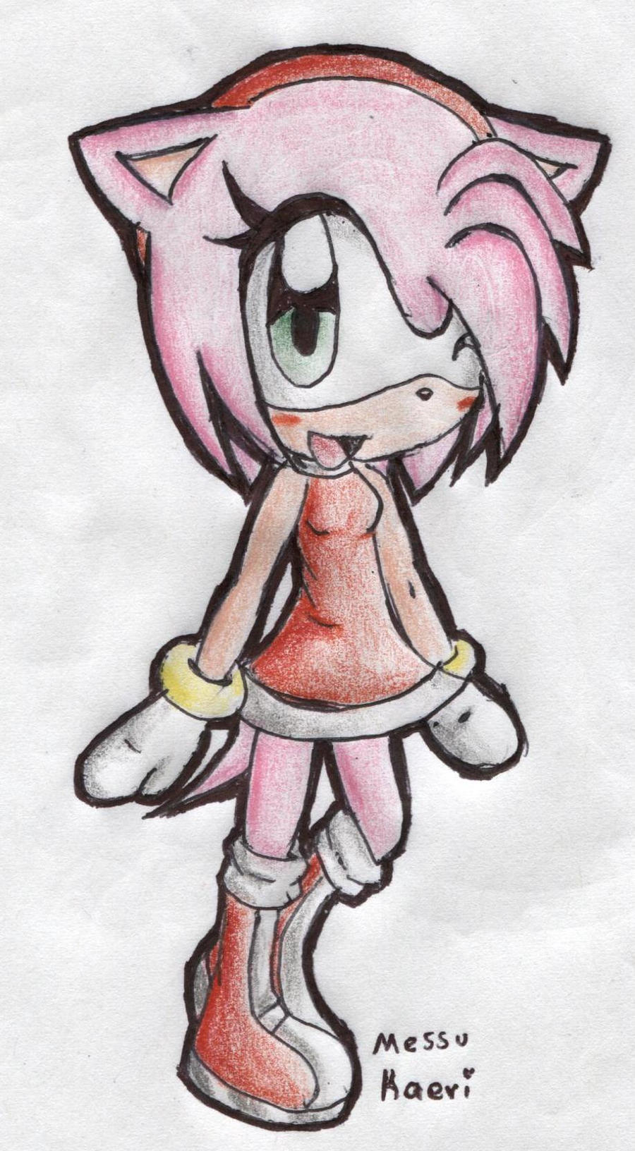 Chibi Amy by MessuNya