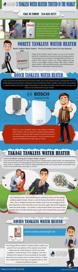Takagi Tankless Water Heater