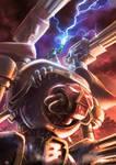 Warhammer 40k Titan reaver chaos