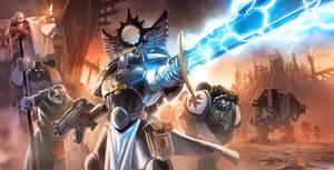 Warhammer 40K tribute with Black Templars :D