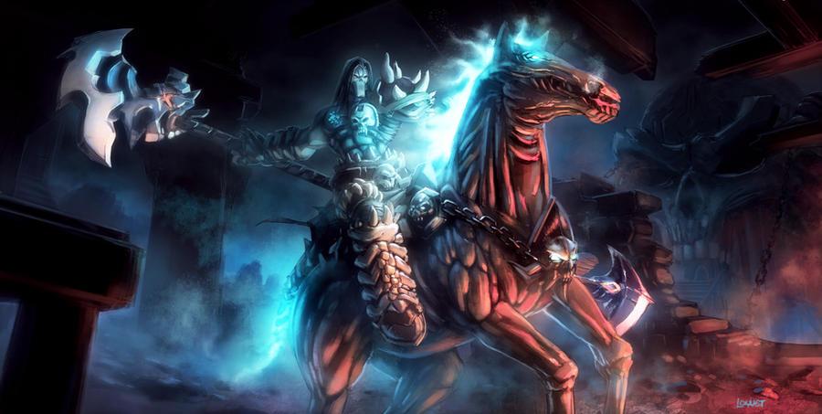 Darksiders 2 Tribute :D by pierreloyvet