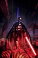 Star Wars Darth Vader Tribute by pierreloyvet