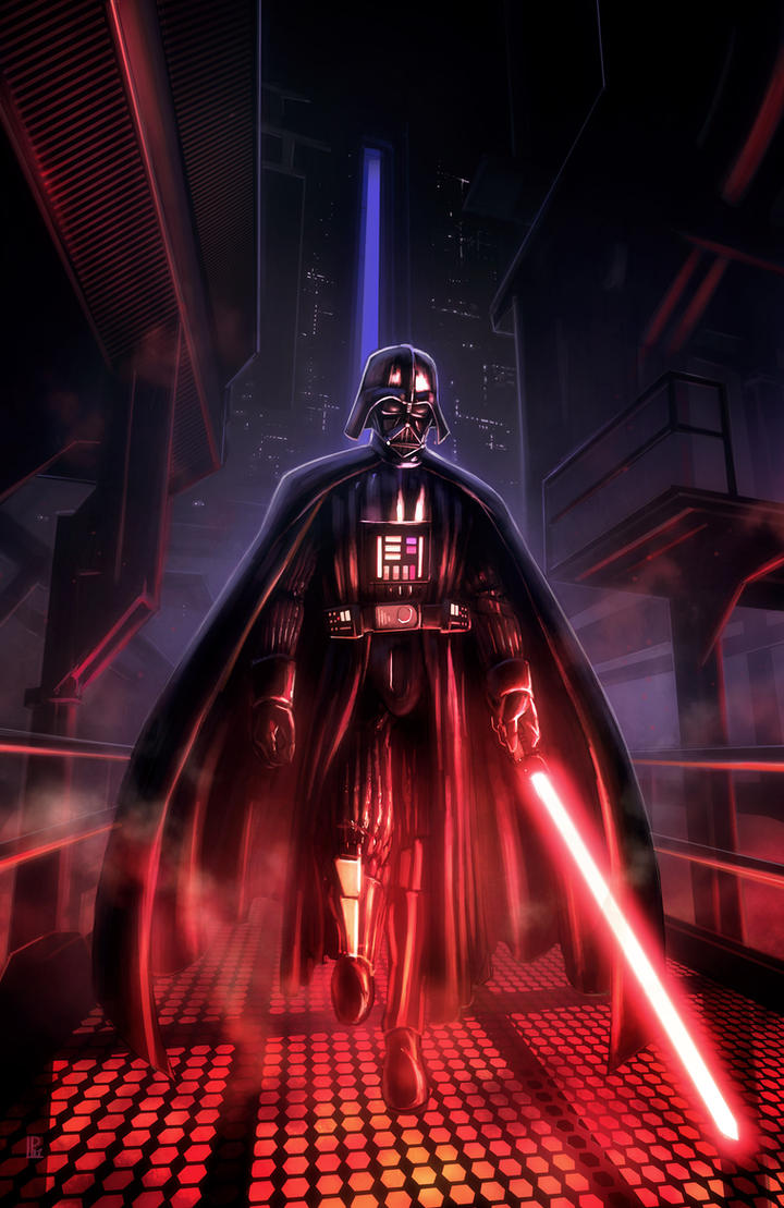 Star Wars Darth Vader Tribute by pierreloyvet