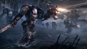 Warhammer 40k Black templars Terminator Tribute