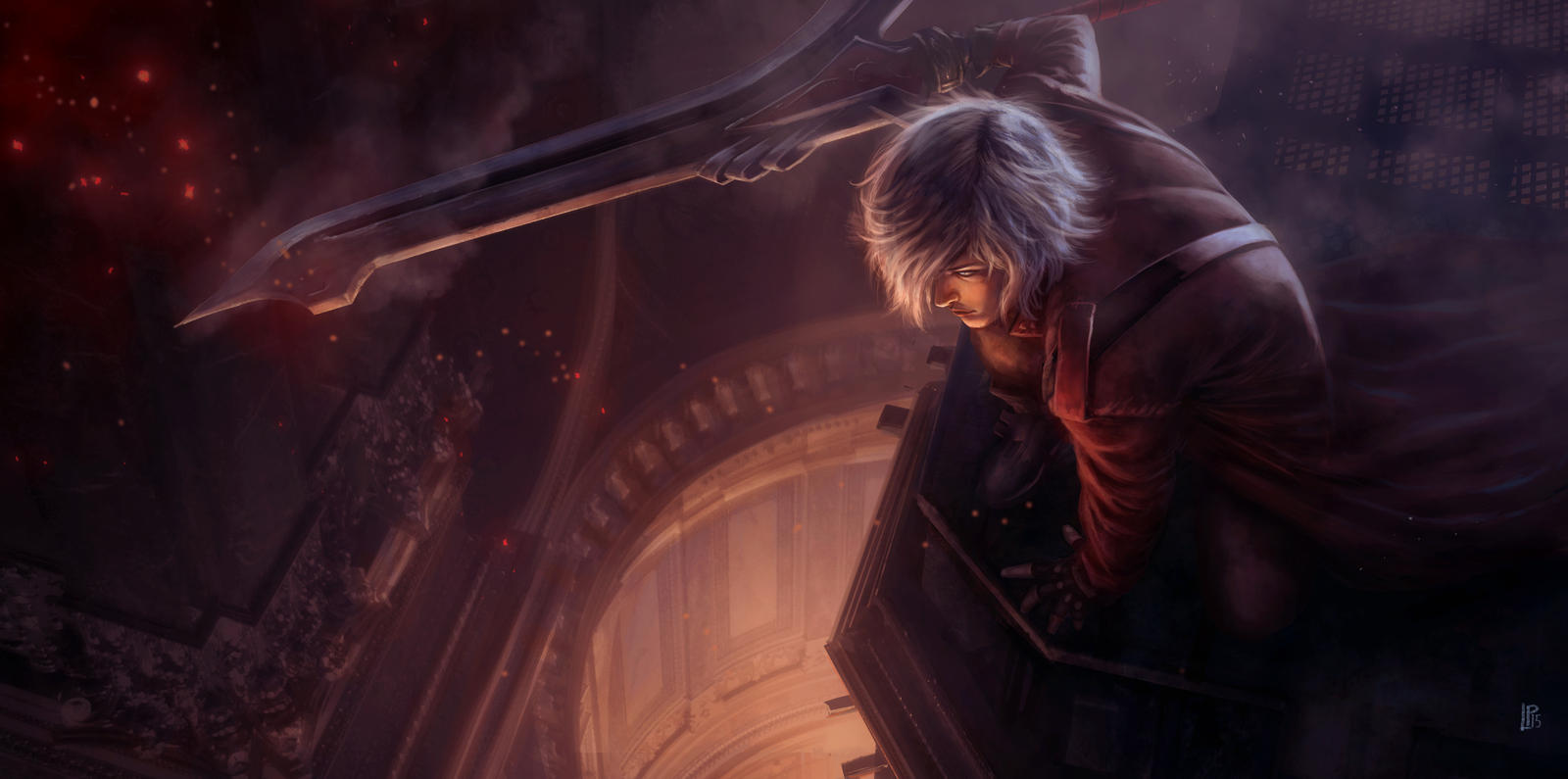 Devil May Cry Dante Tribute With Nero 39 S Sword By