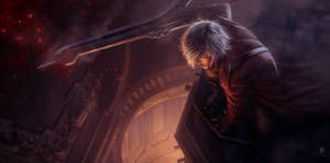 Devil May Cry Dante Tribute with Nero's sword