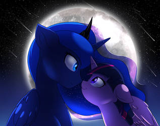 Contest: In The Moonlight by Doodle-Mark