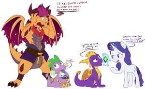 Spyro and Spike: Gems