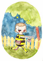 Costume a Day 7 - Zombee by ILoveBlueMoreThanYou