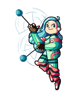 Rainbow Crew member: Light Blue