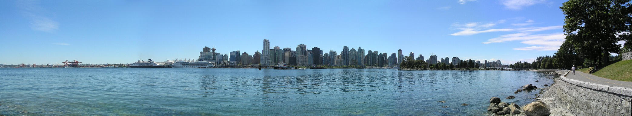 Vancouver skyline by Simarilius