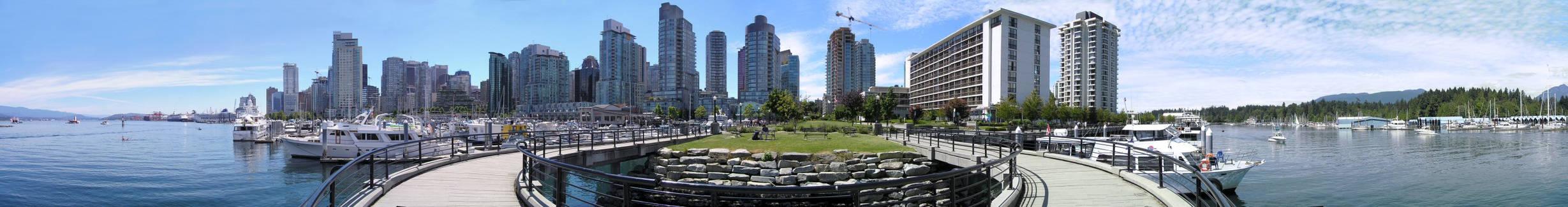 Marina near Stanley Park