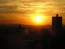 Brazillian sunset by Simarilius