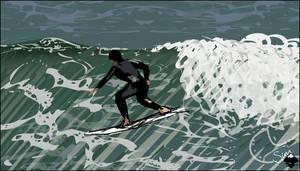 Surfin USA by Simarilius