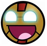 Iron Man Awesome Smiley