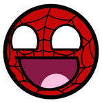 Spider-Man Awesome Smiley