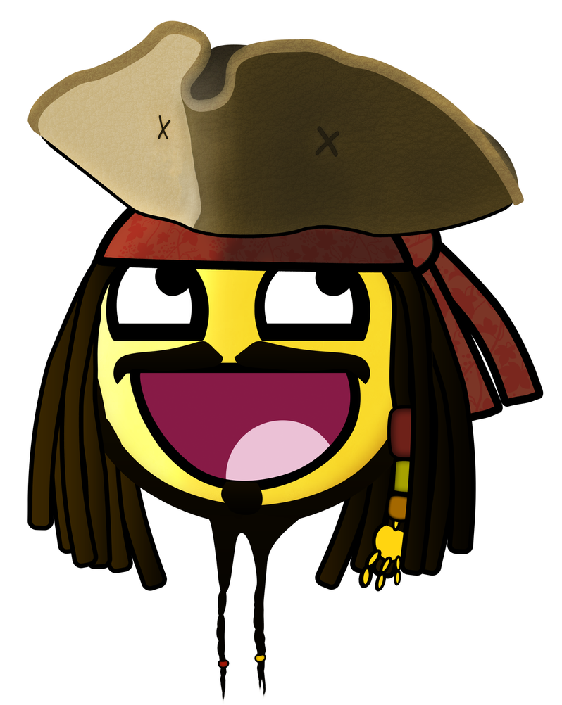 Jack Sparrow Awesome Smiley by E-rap