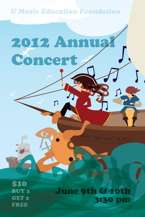 U Music 2012 Annual Concert by tynafish
