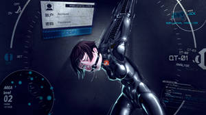 Akane trying out a different type of Dominator -V2