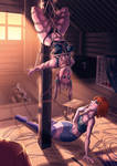 Playtime in the attic