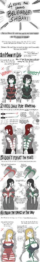 4 Advices For Drawing Shibari