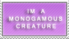 Monogamy Stamp by Dark-lil-Angel