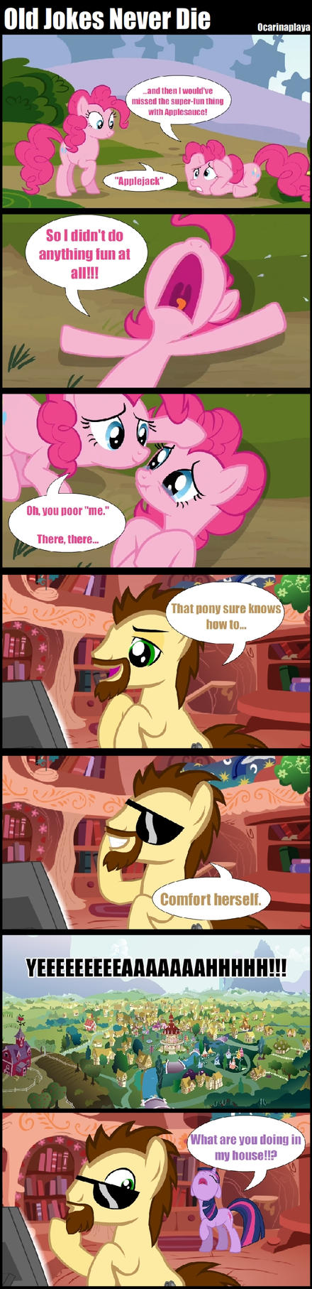 Old jokes by Ocarinaplaya