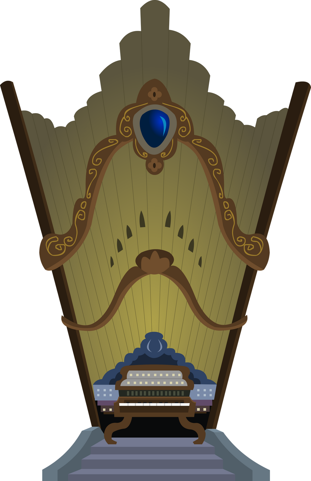 MLP Castle Organ by Ocarinaplaya