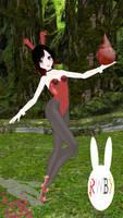 [MMD x RWBY] Ruby Rose Happy Soul
