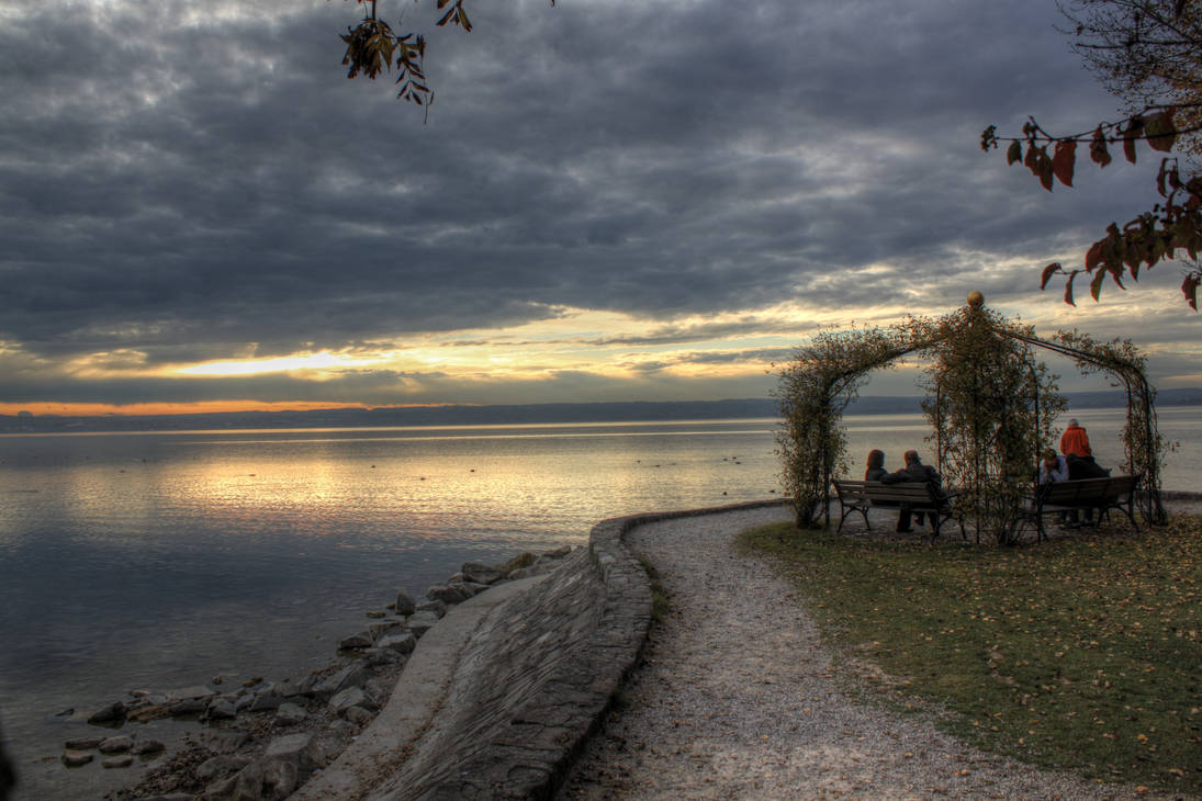 Arbour at Ammersee by zertrin