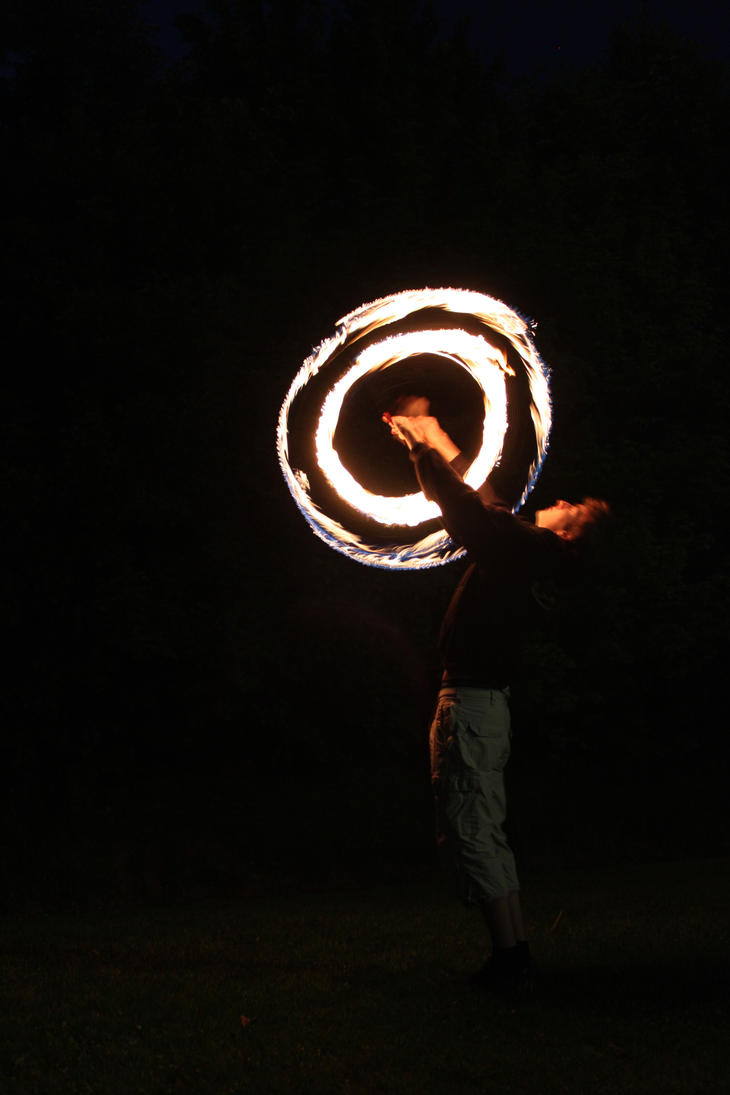 Fire Poi by zertrin