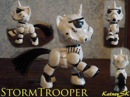 For My Niece, Stormtrooper Unicorn by KatneySK