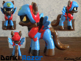 My Little SWAT Kats -- Dark Razor by KatneySK
